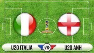 Link sopcast: U20 Anh vs U20 Italia, 18h00 – 08/06