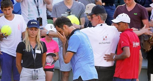 Roger Federer that bai