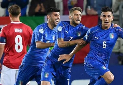 U21 CH Czech vs U21 Italia 1