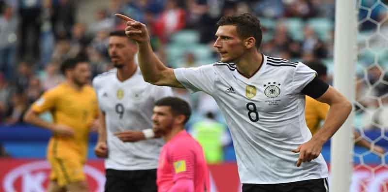 """Sau """"bữa tiệc bàn thắng"""" – Nhà vô địch thế giới Đức hạ Australia"""