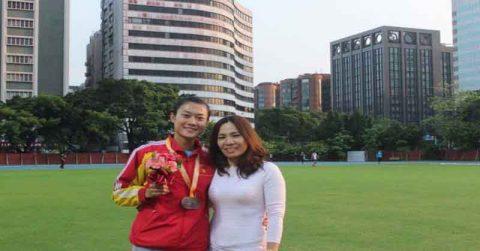 Lê Tú Chinh giành HLV 100m trên đất Thái Lan