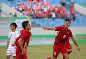 U15 Việt Nam chỉ thiếu chút may mắn