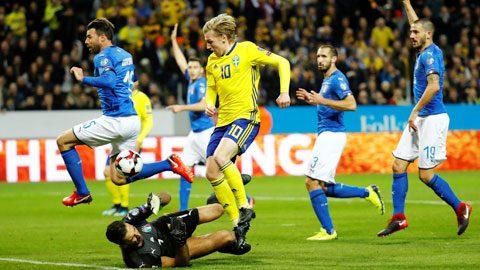 Italia vs Thụy Điển (02h45 ngày 14/11): Người Ý rơi vào cửa tử