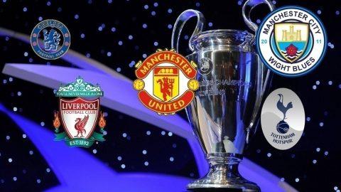 Lịch sử Champions League đang chờ bóng đá Anh phá bỏ