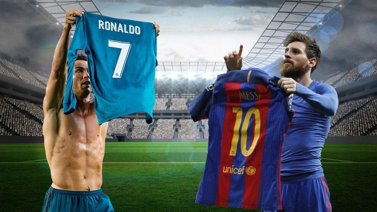 Trước vòng 17 La Liga: So chân Ronaldo vs Messi