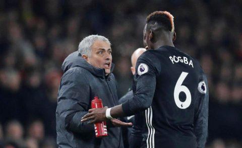 Mourinho thực ra đang test Pogba