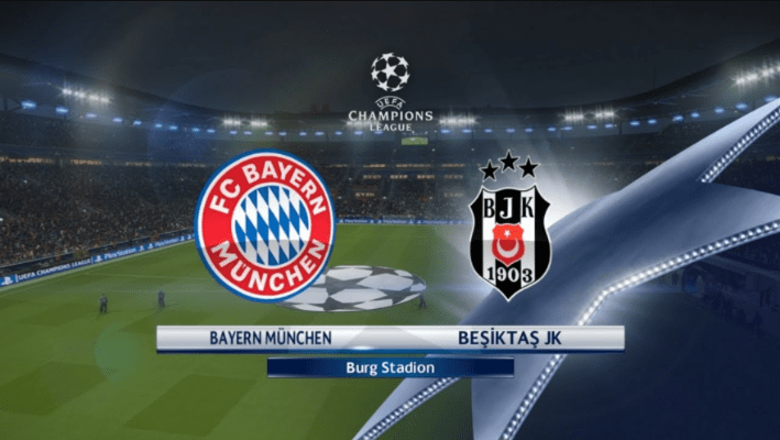 Besiktas JK vs Bayern Munich
