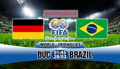 Link sopcast: Đức vs Brazil 1h45 ngày 28/3
