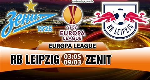Link sopcast: Zenit vs Leipzig 1h00 ngày 16/3