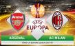 Link sopcast: Arsenal vs AC Milan