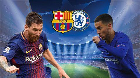 Link sopcast: Barcelona vs Chelsea 2h45 ngày 15/3