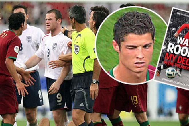 """Những khoảnh khắc điên rồ tại World Cup : Ronaldo nháy mắt """"hắc ám"""", Rooney ôm hận ngàn thu"""