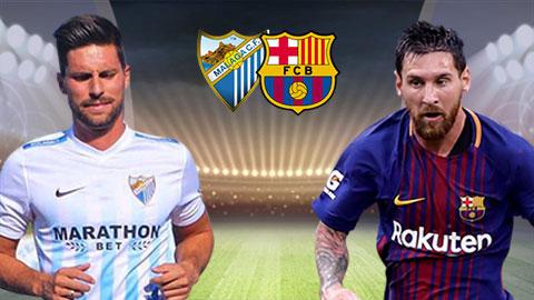 Link sopcast: Malaga vs Barcelona 2h45 ngày 11/3