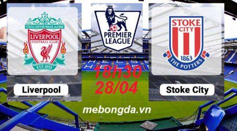 Link sopcast: Liverpool vs Stoke City 18h30 ngày 28/04