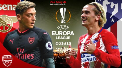 Link sopcast: Arsenal vs Atletico, 02h05 ngày 27/4