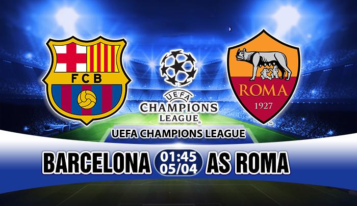 Link sopcast: Barcelona vs AS Roma 01h45, 05/04