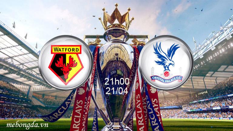 Link sopcast: Watford vs Crystal Palace 21h00 ngày 21/4