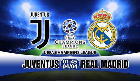 Link sopcast: Juventus vs Real Madrid, 01h45 ngày 4/4