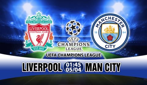 Link sopcast: Liverpool vs Man City, 01h45 ngày 05/4