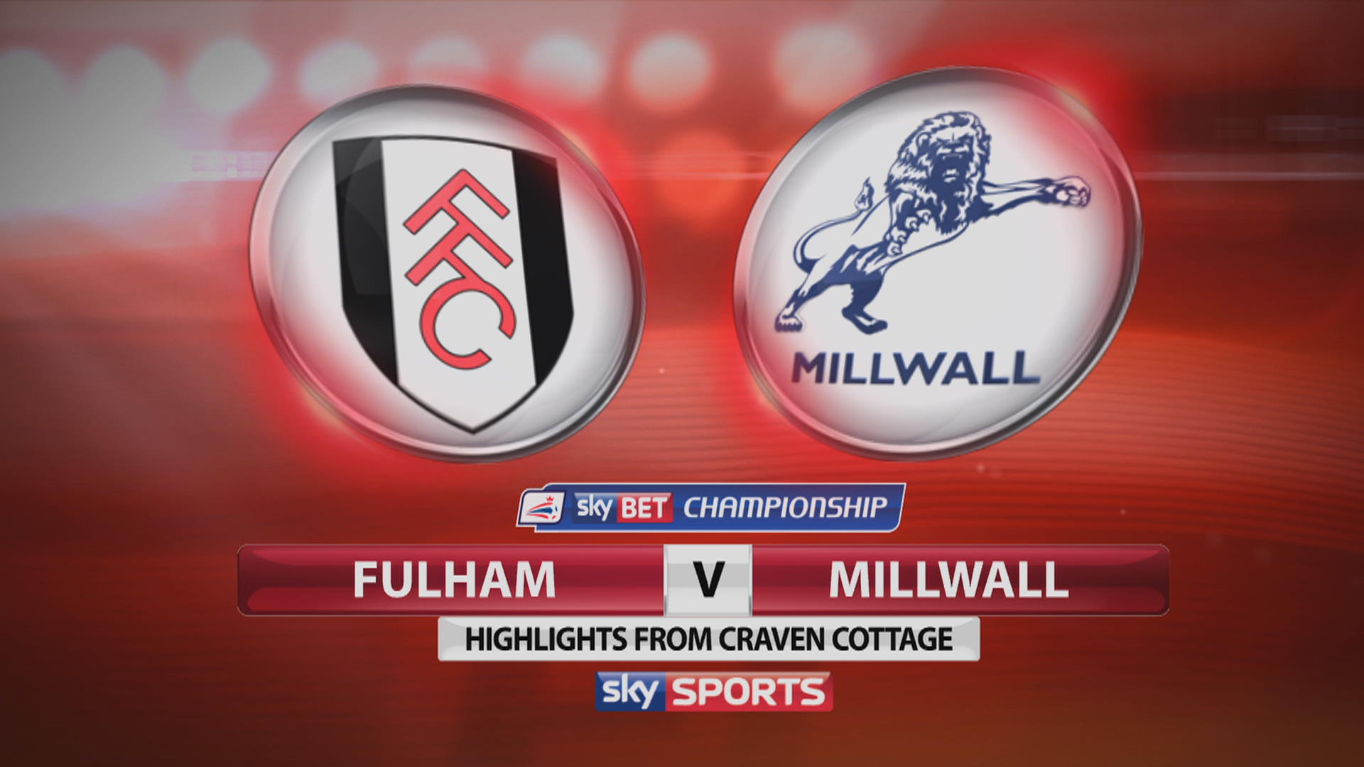 Millwall vs Fulham