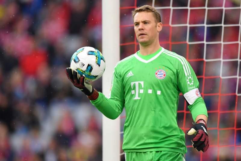 Neuer đã quay trở lại khung thành sau chấn thương