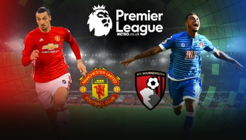 Link sopcast: Bournemouth vs Man United, 01h45 ngày 19/4