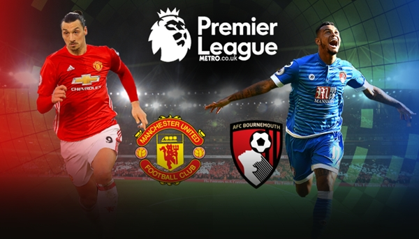 Link sopcast: Bournemouth vs Man United