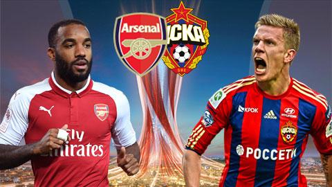 Link sopcast: Arsenal vs CSKA Moscow, 02h05 ngày 6/4