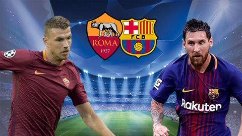 Link sopcast: Roma vs Barcelona 1h45 ngày 11/4