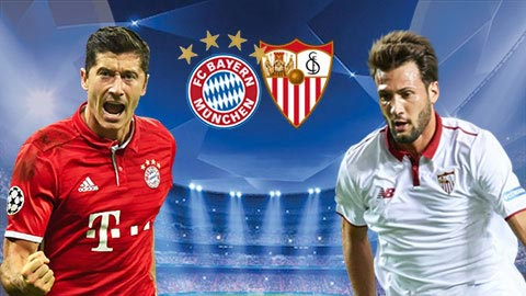 Link sopcast: Bayern Munich vs Sevilla