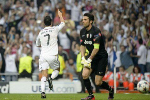 """""""Tôi mất ngủ vì sự nguy hiểm của C. Ronaldo """" lời tâm sự của Buffon"""