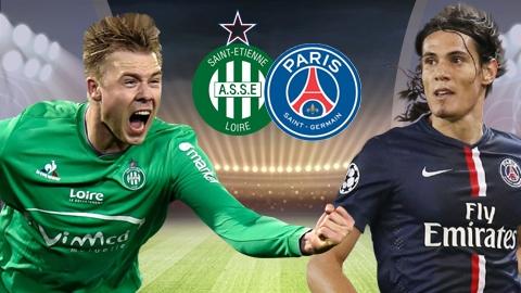 Link sopcast: St Etienne vs PSG