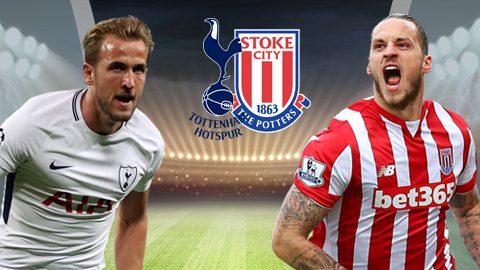 Link sopcast: Stoke City vs Tottenham 21h00 ngày 7/4