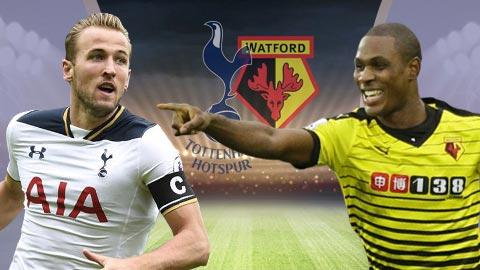 Link sopcast: Tottenham vs Watford