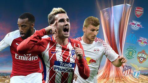 Link sopcast tứ kết Europa League 2h05 ngày 13/04 siêu mượt