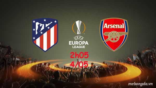 Link sopcast: Atletico Madrid vs Arsenal, 2h05 ngày 04/05