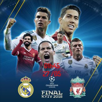 Link sopcast: Real Madrid vs Liverpool, 01h45 ngày 27/5