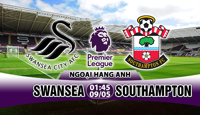 Link sopcast: Swansea vs Southampton