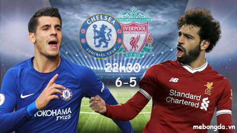 Link sopcast: Chelsea vs Liverpool 22h30 ngày 6-5