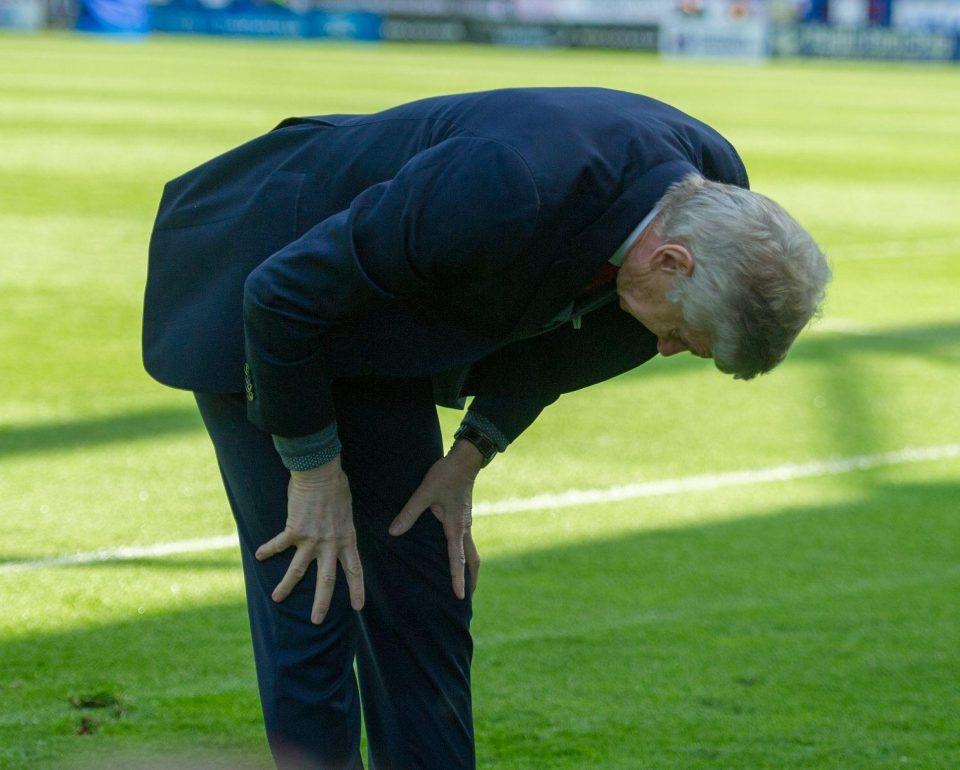 Khoảnh khắc cuối cùng của Wenger tại giải ngoại hạng