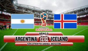 Link sopcast: Argentina vs Iceland, 20h00 ngày 16/6