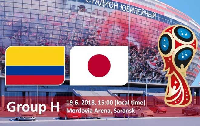 Link Sopcast: Colombia vs Nhật Bản, 19h00 ngày 19/06