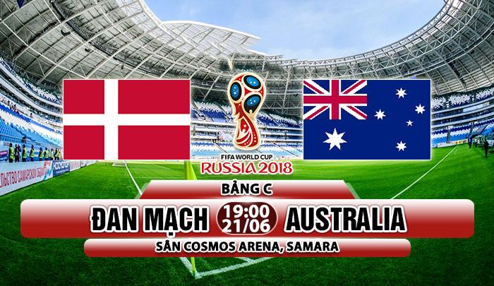 Link sopcast: Đan Mạch vs Australia