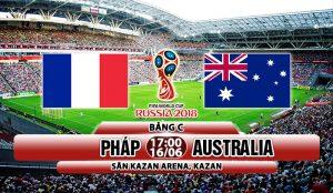Link sopcast: Pháp vs Australia, 17h00 ngày 16/06