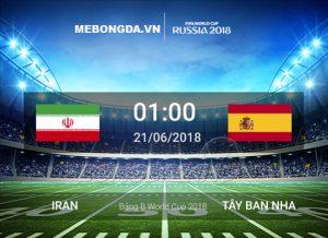 Link sopcast Iran vs Tây Ban Nha 1h00 ngày 21/6