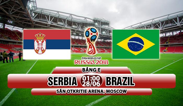 Link sopcast Serbia vs Brazil