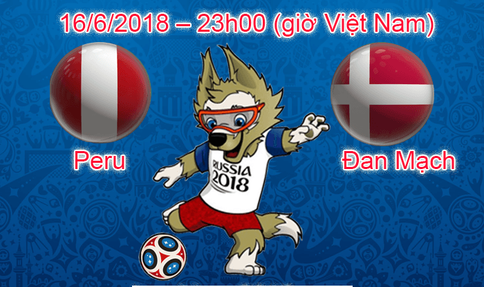 Link sopcast Peru vs Đan Mạch, 23h00 ngày 16/6