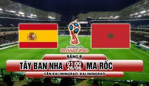 Link sopcast Tây Ban Nha vs Maroc 1h00 ngày 26/6