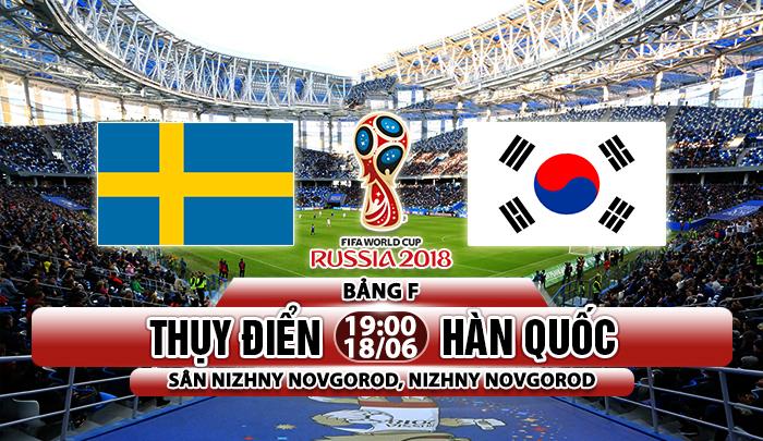 Link sopcast: Thụy Điển vs Hàn Quốc