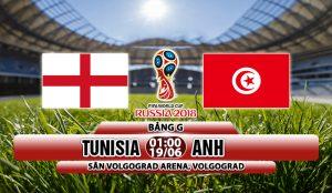Link sopcats: Tunisia vs Anh, 01h00 ngày 19/6